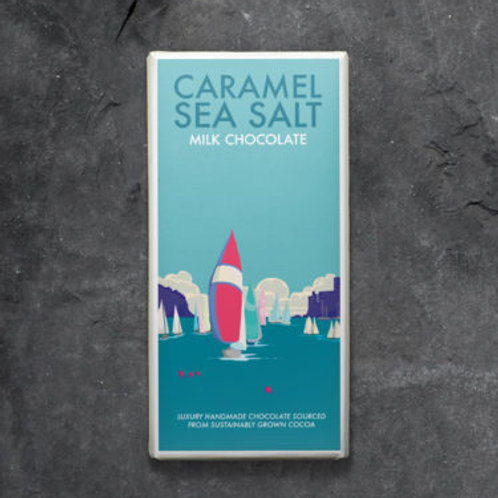 Sea salt caramel milk chocolate