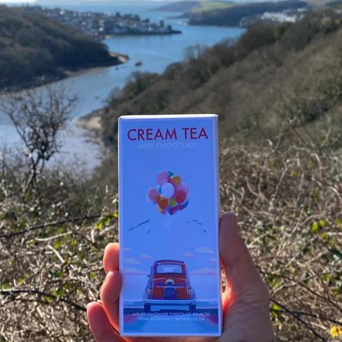 Cream Tea Milk Chocolate