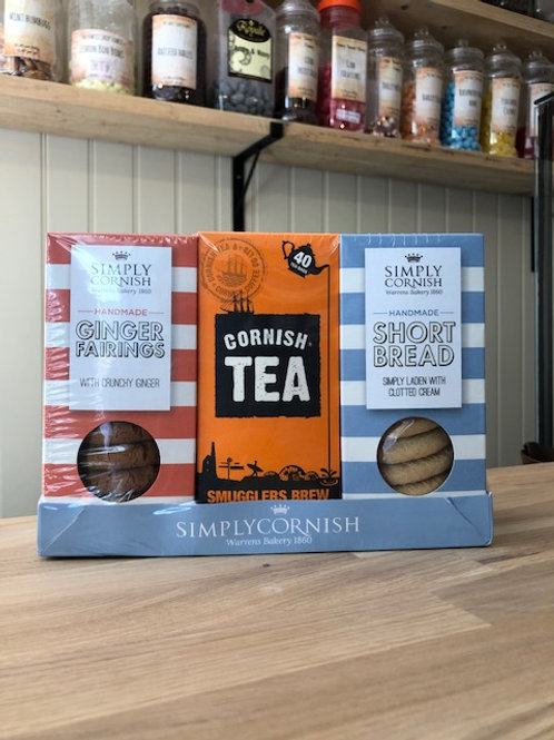 Simply Cornish gift tea pack