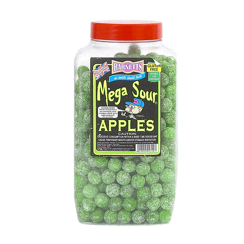 Mega Sour Apples 113g = a quater