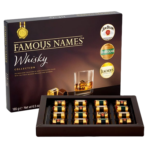 Elizabeth Shaw Famous Names Whisky Collection 185g
