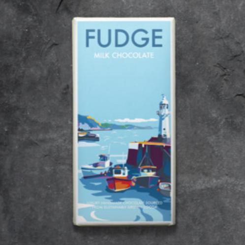 Fudge And Milk Chocolate