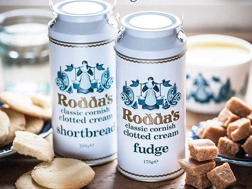 Rodda's clotted cream fudge