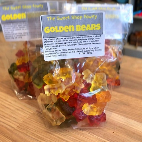 Golden Bears (Gummy bears)