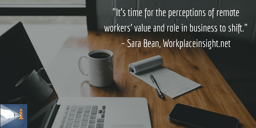 It's time for attitudes about telecommuting to shift.