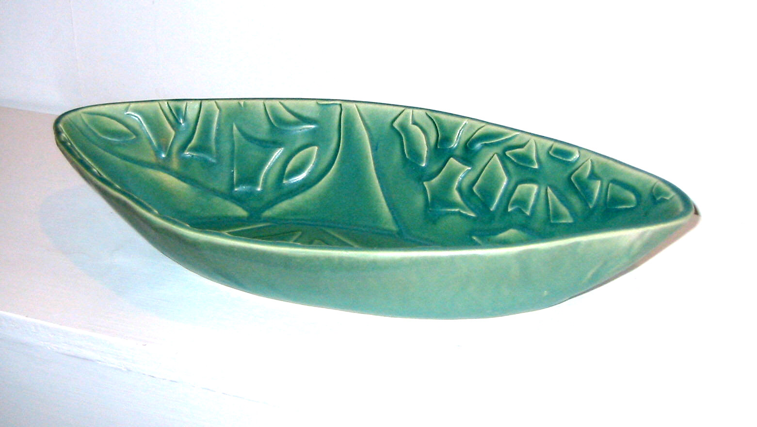 almond-shaped dish