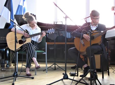 PILLIÕPE: kitarr, klaver, löökpillid, ukulele, akordion 2019/2020. õa