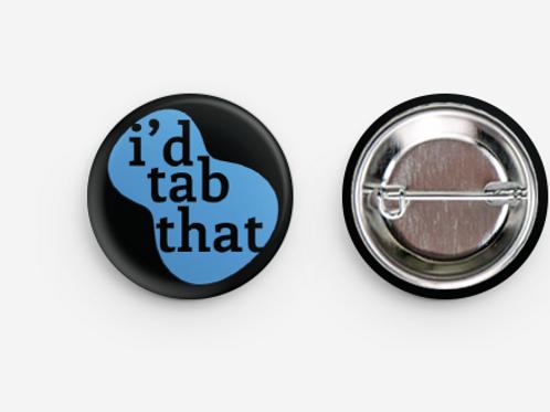 I'd Tab That - Ukulele Button