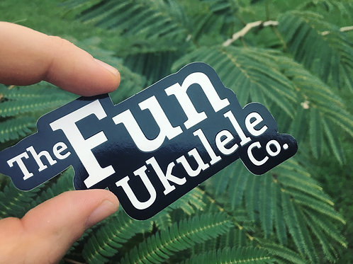 Fun Ukulele Original Logo Sticker