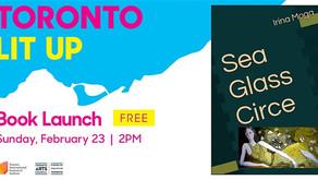 """Sea Glass Circe"" Book Launch Toronto LitUp! Toronto International Festival of Authors"