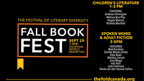 Join me at the Brampton Fall Book Fest