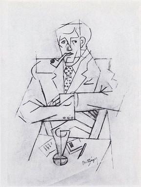 Jean_Metzinger,_1911,_Etude_pour_le_port