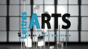 """At """"Arts et Lettres"""" (ICI Television) on July 22, 2021 - 3:30 pm EDT"""