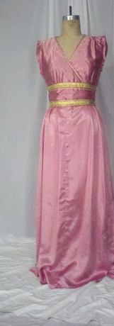 Pink Greek Dress