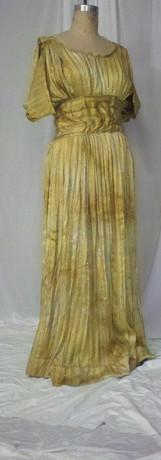 Gold Greek Dress