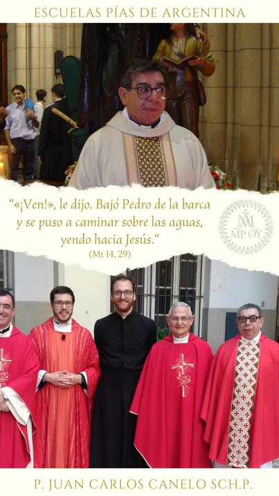 guiados por el ejemplo de San José de Calasanz.