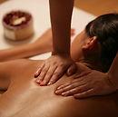 deep tissue massage on back