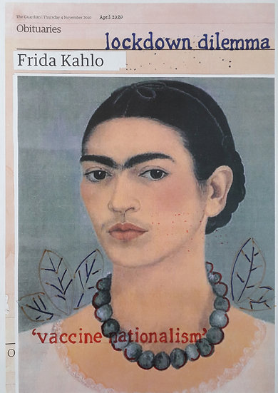 Hugh Mendes, Kahlo Lockdown, 2020