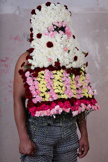 Amartey Golding, Flowers, 2020