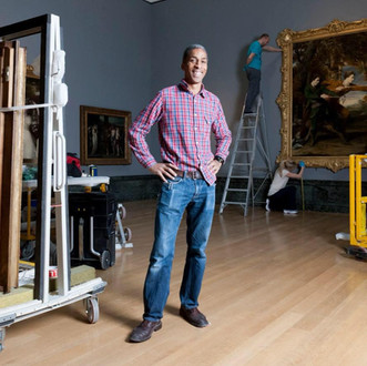 Mikei Hall, Senior Art Handling Technician, Tate Britain