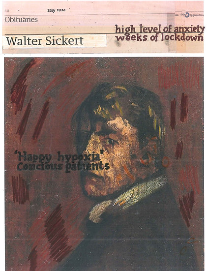 Hugh Mendes, Sickert: high level, 2020