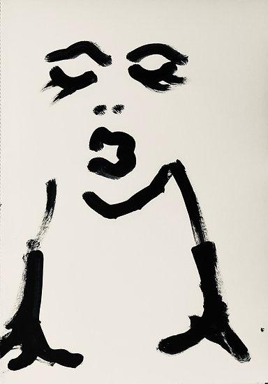 Ilona Szalay,  Monochrome Series 8, 2019