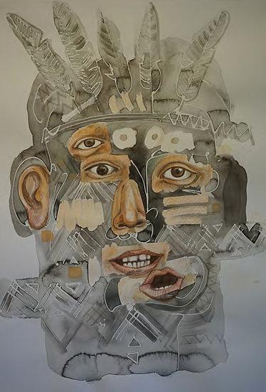 """Javier Félix  """"Civilizado IV"""", 1999"""