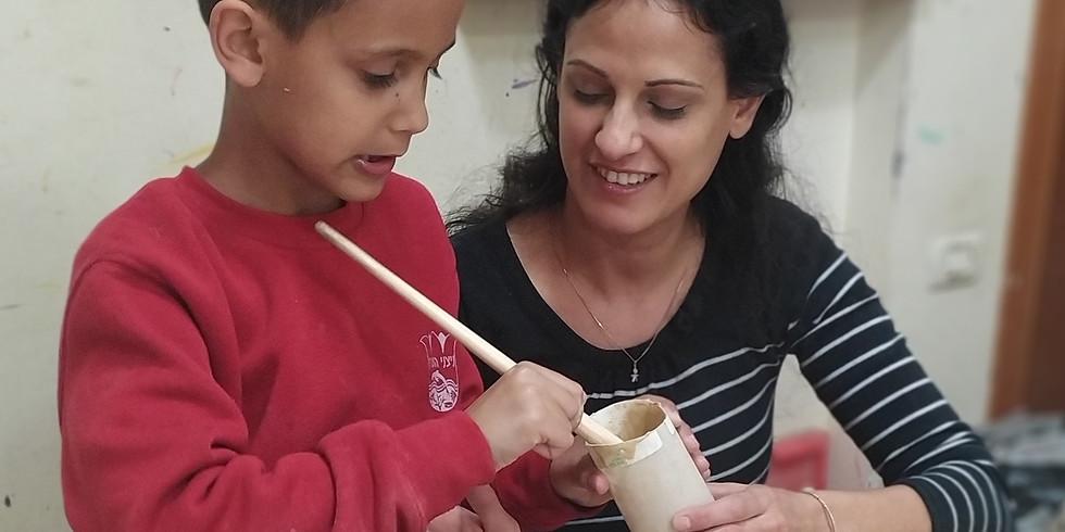 סדנאת יצירה להורים וילדים