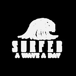 SurFebruary white logo
