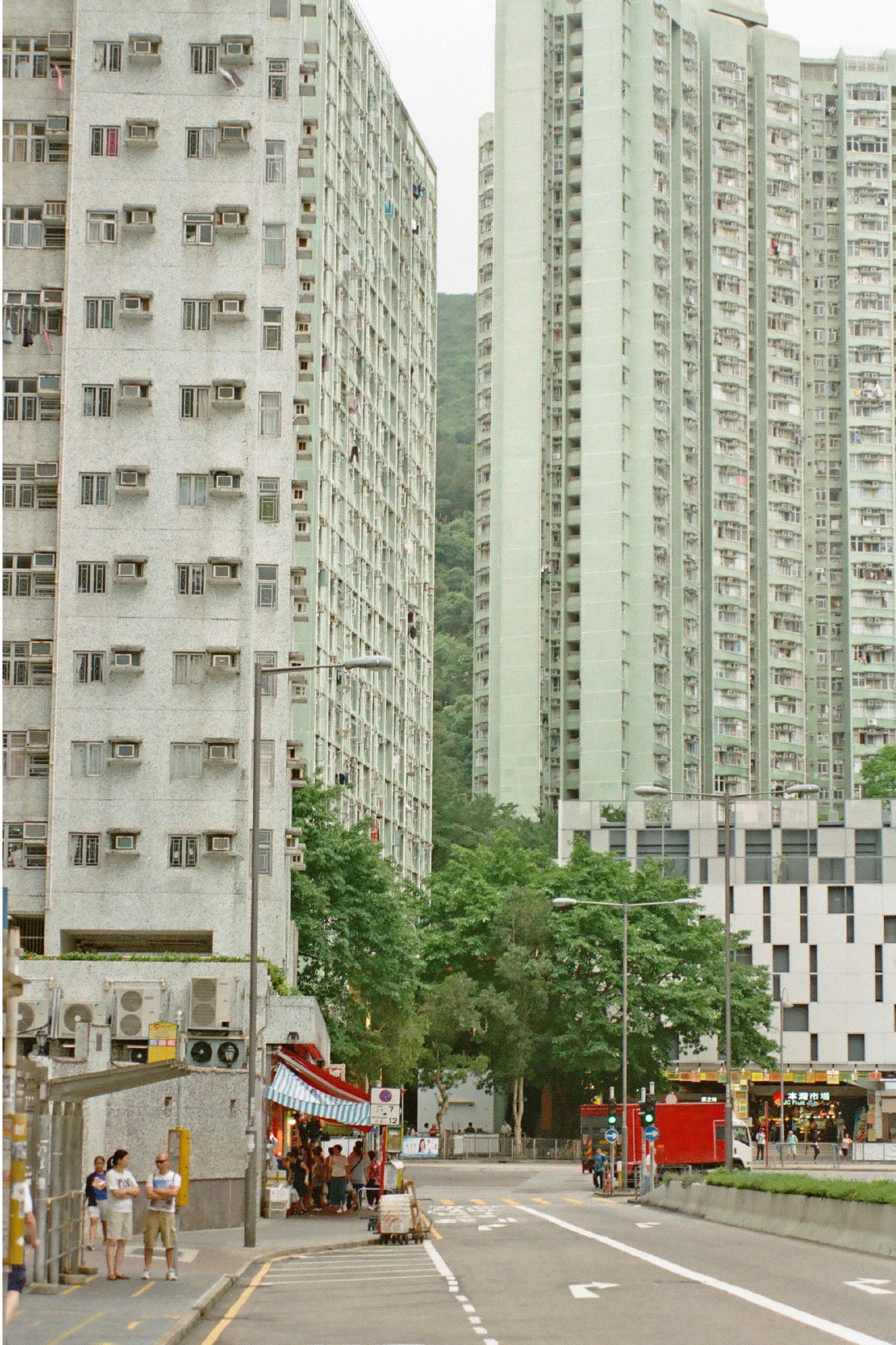 Mountain from Siu Sai Wan