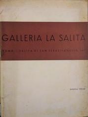 VENDUTO - Galleria La Salita, Bollettino 1959-60, Roma