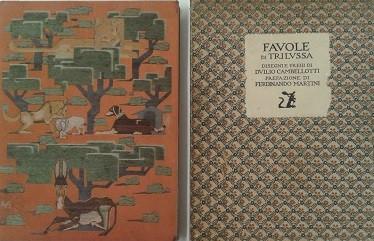 venduto - DUILIO CAMBELLOTTI, Favole di Trilussa, ROMA, 1920