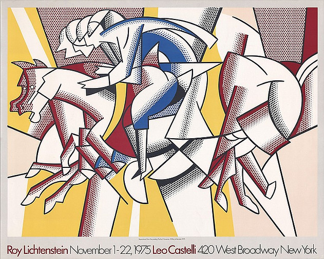 Roy Lichtenstein November 1-22 1975 Leo Castelli, New York.
