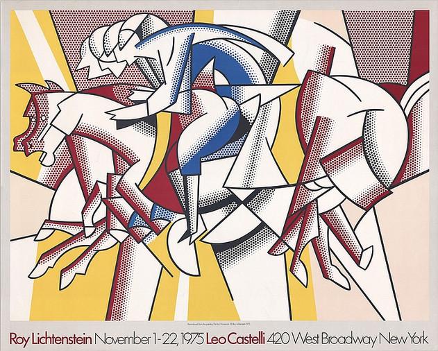 Roy Lichtenstein November 1-22 1975 Leo Castelli, New York.