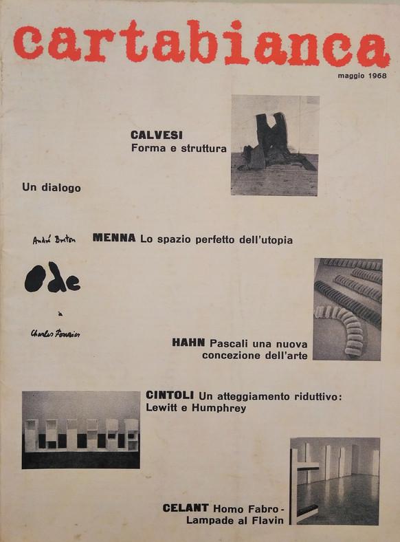 Cartabianca, anno 1, n.3, maggio 1968