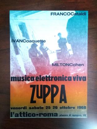 Musica Elettronica Viva  ZUPPA, L'Attico, Roma 1968