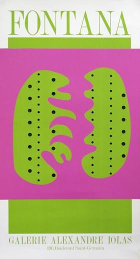 LUCIO FONTANA, Galerie Alexandre Jolas, s.d. (1966)