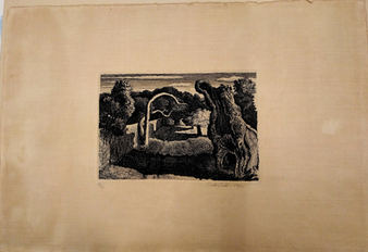 GRAHAM SUTHERLAND, Pastoral, 1930