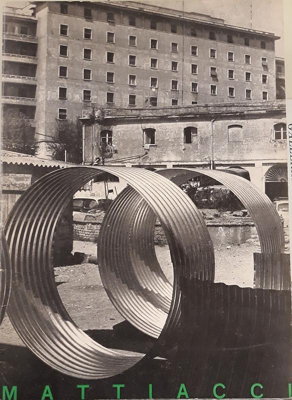 Eliseo Mattiacci, L'Attico, 1968