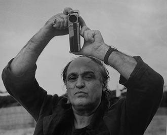 MARIO SCHIFANO, foto di Sandro Vannini, anni '90
