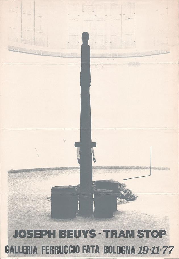 Joseph Beuys, Tram Stop, Galleria Ferruccio Fata, Bologna1977