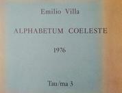 Emilio Villa, Alphabetum coeleste, 1976