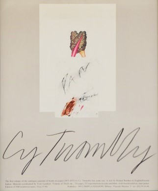 NON DISPONIBILE - Cy Twombly, 1977
