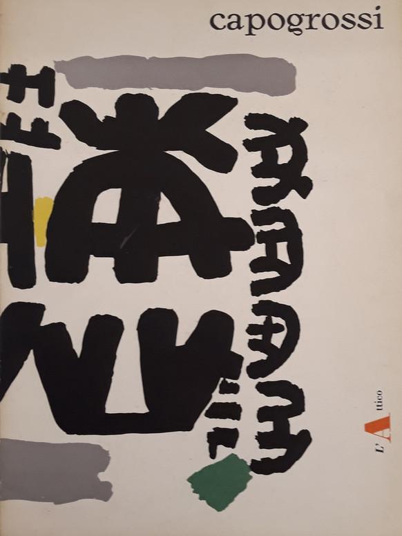 venduto - Capogrossi, catalogo mostra a L'Attico, 1962