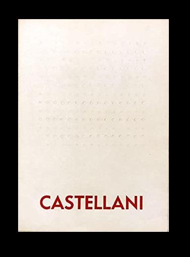 ENRICO CASTELLANI, Betty Parsons Gallery, 1966