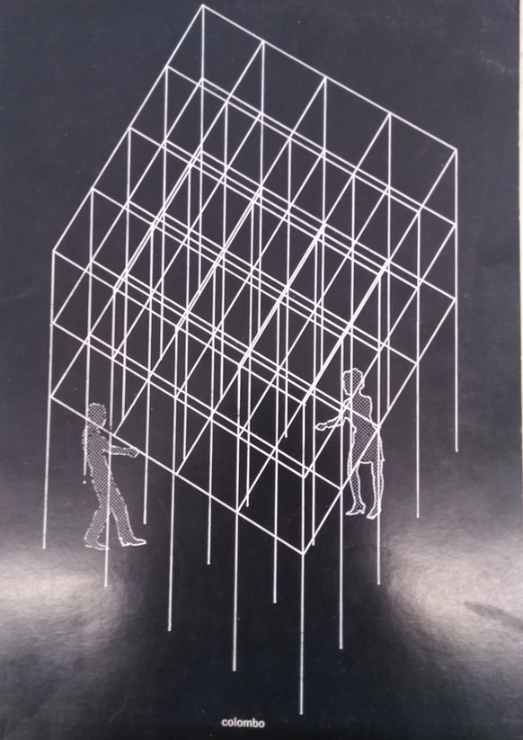 GIANNI COLOMBO L'Attico 1968
