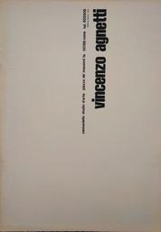VINCENZO AGNETTI, Studio Cannaviello,1975