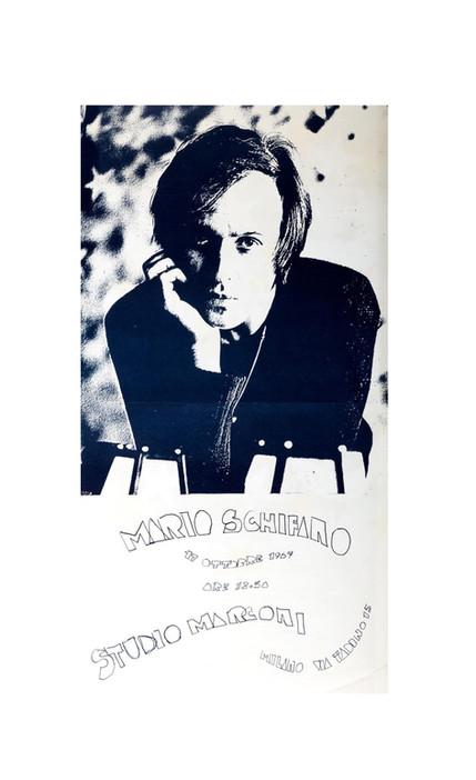 venduto - Mario Schifano TUTTESTELLE, Studio Marconi, 1967
