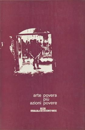 ARTE POVERA PIU' AZIONI POVERE, Rumma editore, 1969