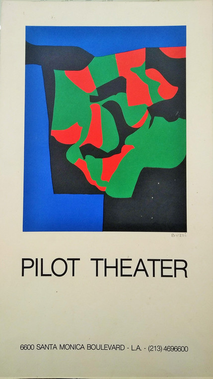 VENDUTO - Alberto Burri, Pilot Theater,